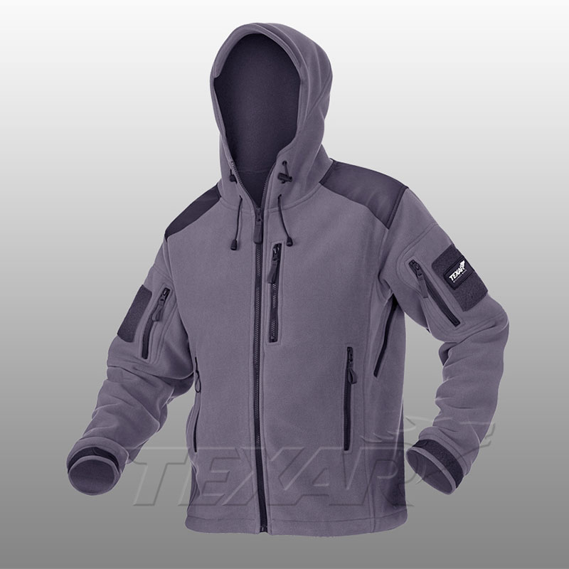 TEXAR - Fleece Jacket HUSKY - Grey