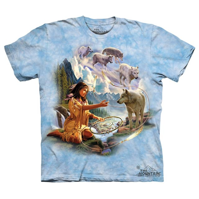 The Mountain - Dreams of Wolf Spirit T-Shirt
