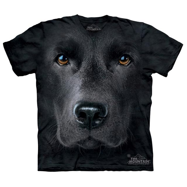 The Mountain - Black Lab Face