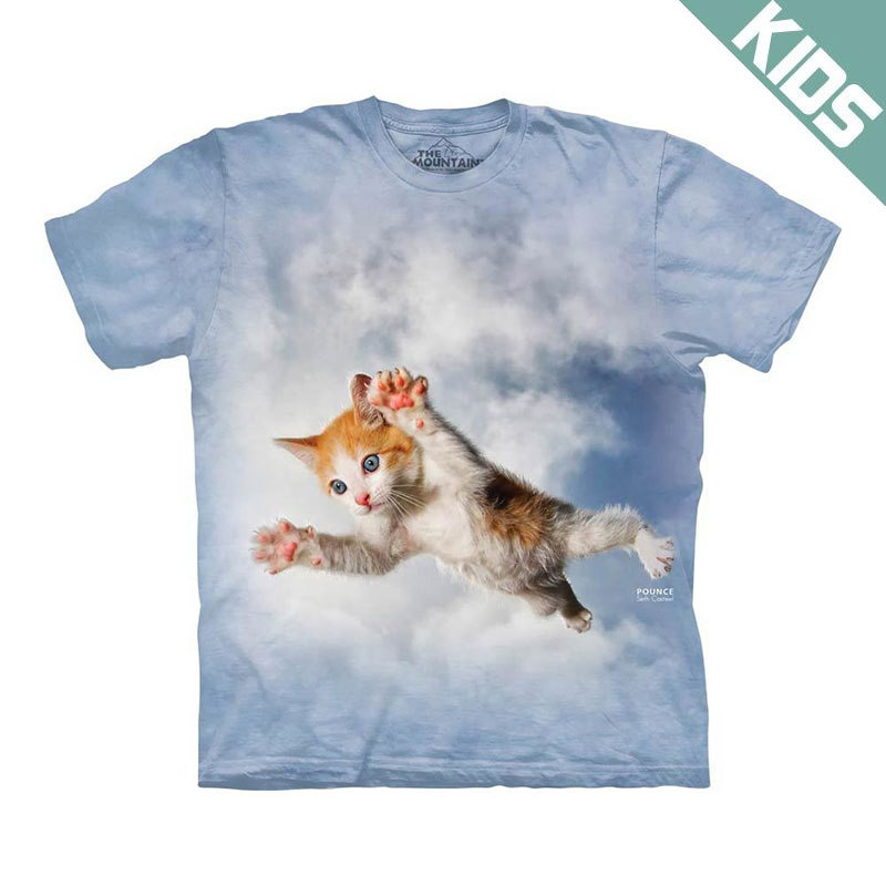 The Mountain - Pounce Bieber Kids T-Shirt