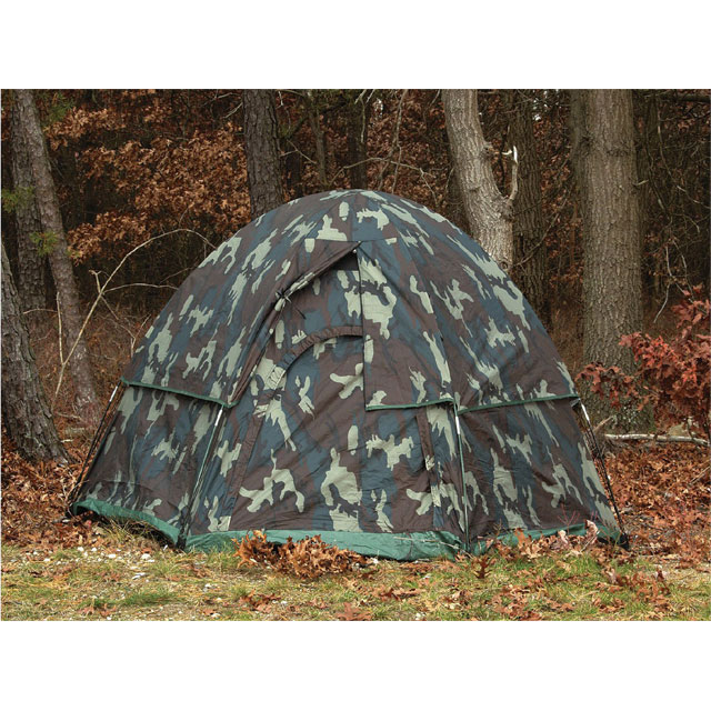 Rothco - Camo 3-Man Hexagon Dome Tent