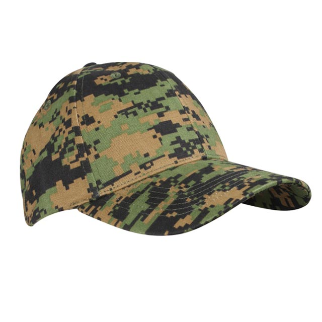 Rothco - Supreme Low Profile Cap - Woodland Digital Camo