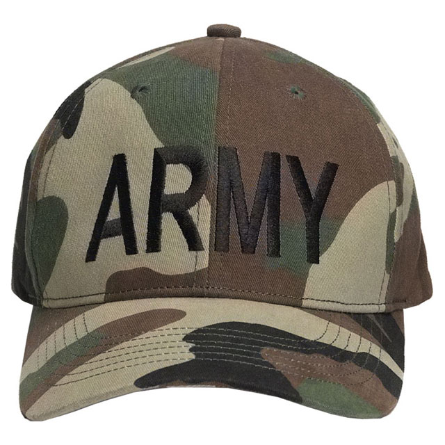 Rothco - Army Supreme Low Profile Cap - Woodland Camo