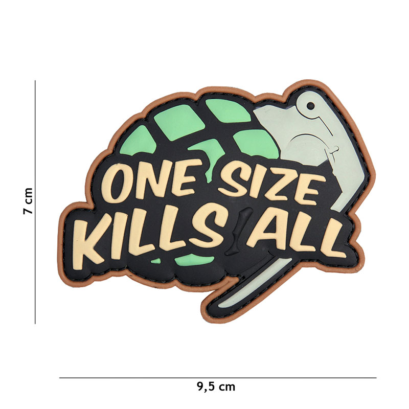 101 inc - Patch 3D PVC One size kills all