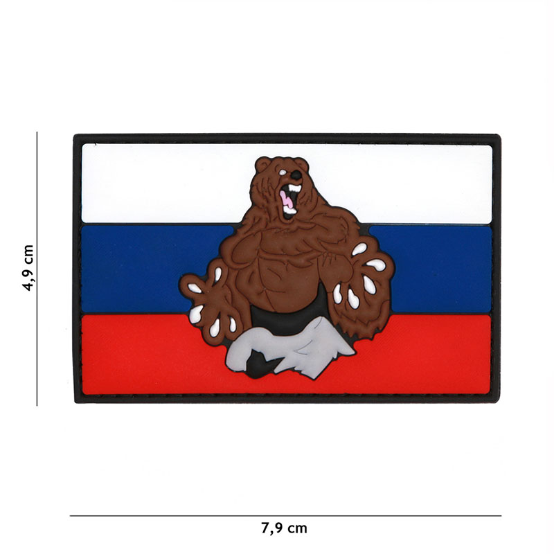 101 inc - Patch 3D PVC Russia beer