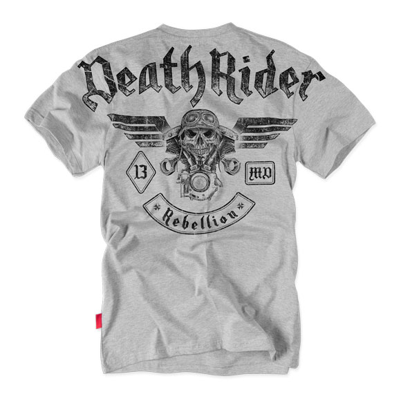 Dobermans - Death Rider T-shirt TS128 - Grey