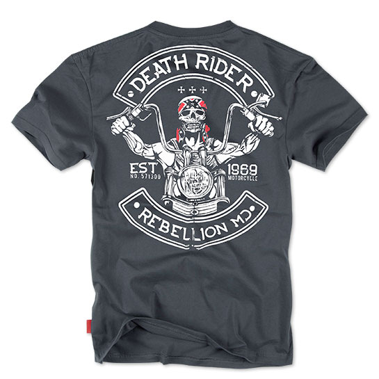 Dobermans - Death Rider T-shirt TS86 - Steel