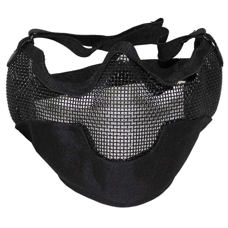 Max Fuchs - Face Mask wire mesh - OD green