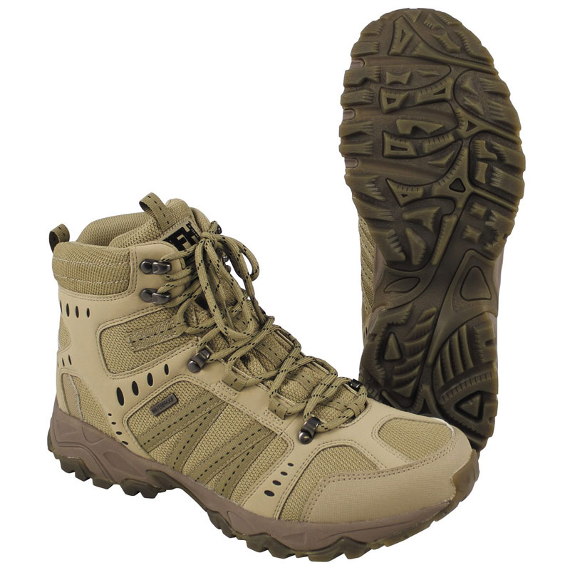 Max Fuchs - Combat Boots Tactical - Coyote Tan