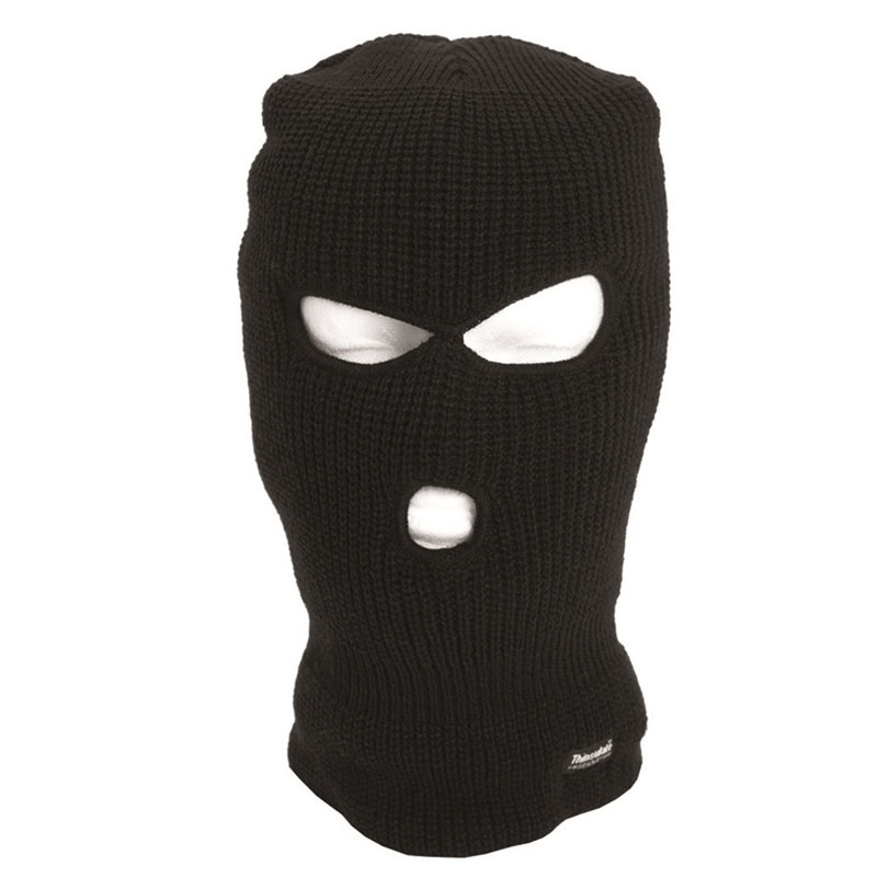 Sturm - Black 3-Hole Thinsulate™ Balaclava