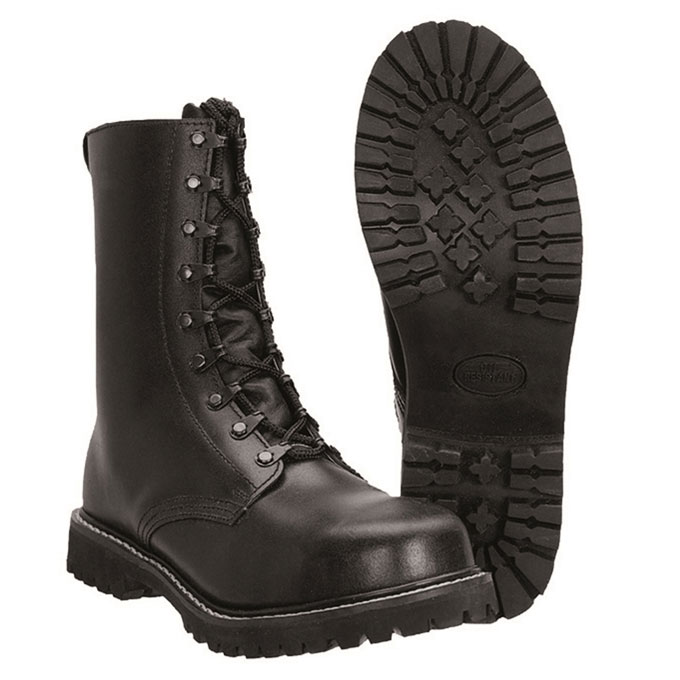 Sturm - Para Boots With Pile Lining And Zipper
