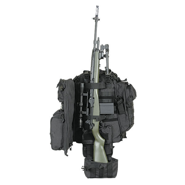 Voodoo Tactical - 15-0029 Praetorian Rifle Pack - Black