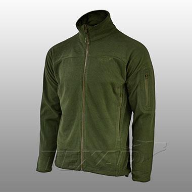 TEXAR - Fleece jacket CONGER - Olive