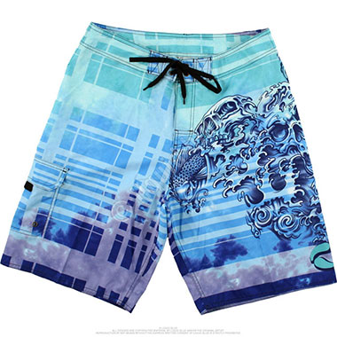 Шорты Liquid Blue - Koi Dreams Tie-Dye Board Shorts