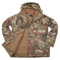 101 inc - G1 Military parka - dtc.multi camo