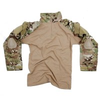 101 inc - Tactical shirt UBAC Warrior with elbow pads - dtc.multi