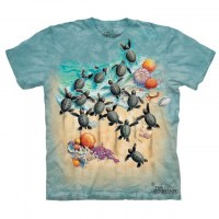 The Mountain - Green Turtle Hatchlings T-Shirt