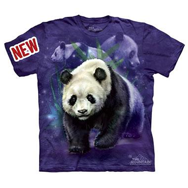 The Mountain - Panda Collage