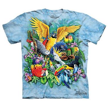 The Mountain - Birds of the Tropics T-Shirt