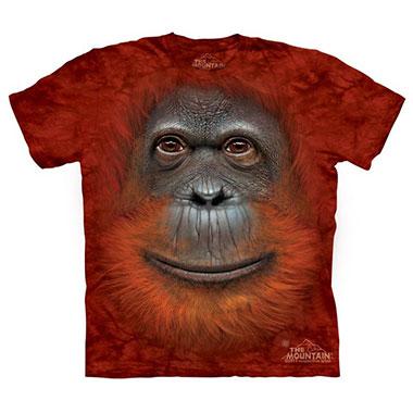The Mountain - Orangutan Face