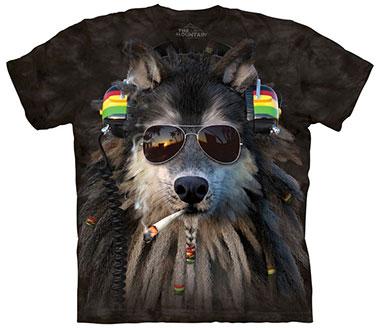 The Mountain - Smoking Rasta Wolf