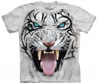 The Mountain - Big Face Tribal White Tiger