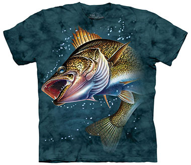 The Mountain - Walleye T-Shirt