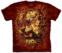 The Mountain - Fire Tiger T-Shirt
