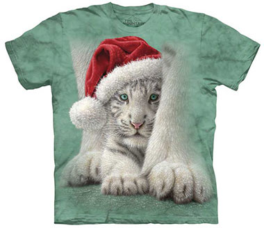 The Mountain - Shletered Christmas T-Shirt