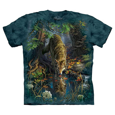 The Mountain - Enchanted Wolf Pool T-Shirt