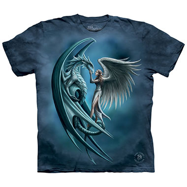 The Mountain - Angel & Dragon T-Shirt