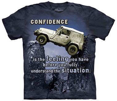 The Mountain - Jeep Outdoor T-Shirt