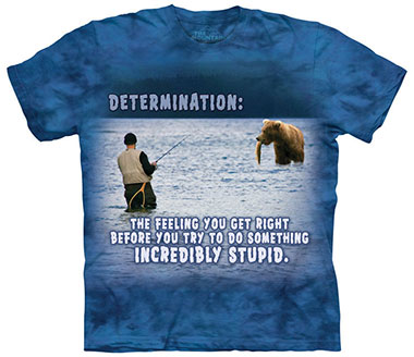 The Mountain - Fishing Outdoor T-Shirt