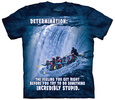 The Mountain - Rafting Outdoor T-Shirt