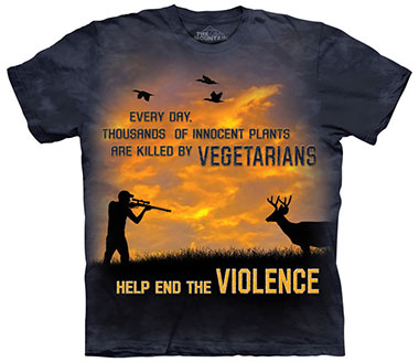 The Mountain - Violence Outdoor T-Shirt