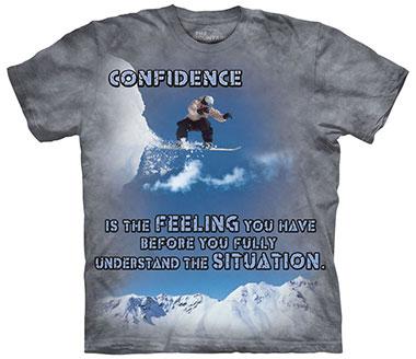 The Mountain - Snowboard Outdoor T-Shirt