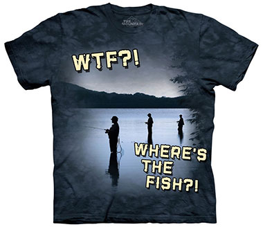 The Mountain - Freshwater WTF T-Shirt