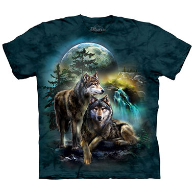The Mountain - Wolf Lookout T-Shirt