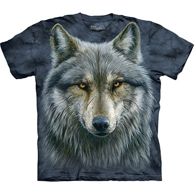 The Mountain - Warrior Wolf T-Shirt