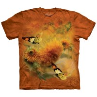 The Mountain - Sunflowers and Butterflies T-Shirt