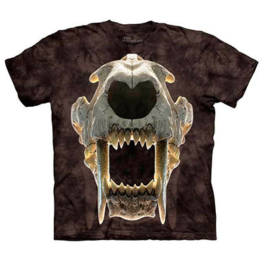 The Mountain - Sabertooth Skull T-Shirt