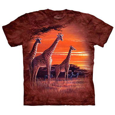 The Mountain - Sundown T-Shirt