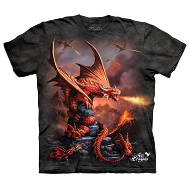 The Mountain - Fire Dragon T-Shirt