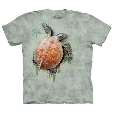 The Mountain - Sea Turtle Climb T-Shirt
