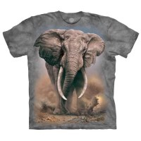 The Mountain - African Elephant T-Shirt