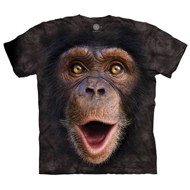 The Mountain - Happy Chimp T-Shirt