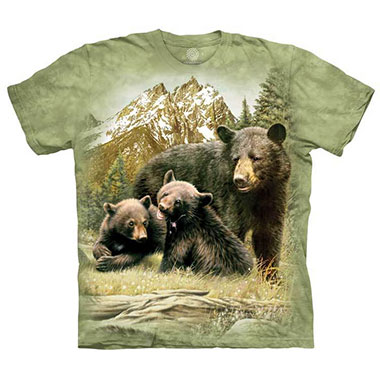 The Mountain - Black Bear Family T-Shirt