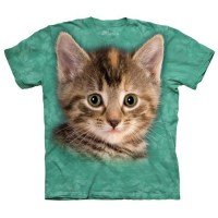 The Mountain - Striped Kitten T-Shirt