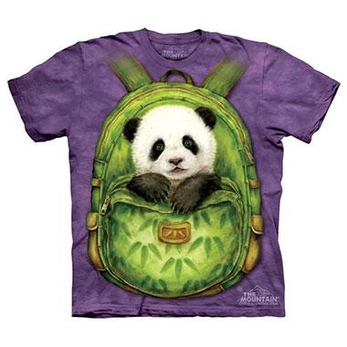 The Mountain - Backpack Panda Kids