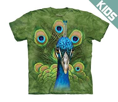 The Mountain - Vibrant Peacock Kids